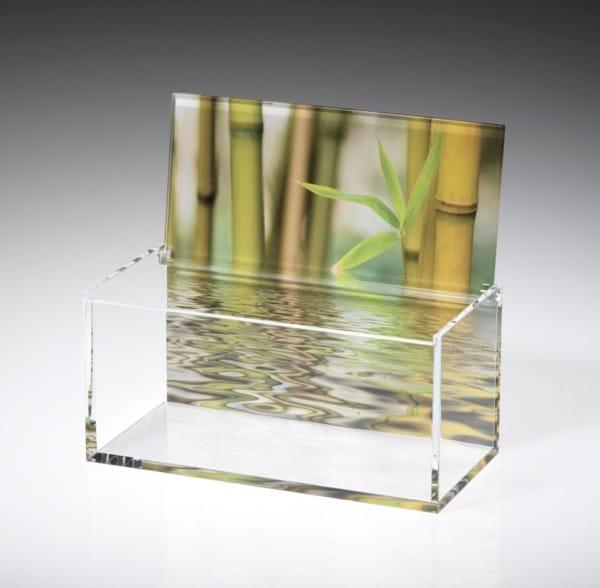 Boite Crystal en impression numérique
