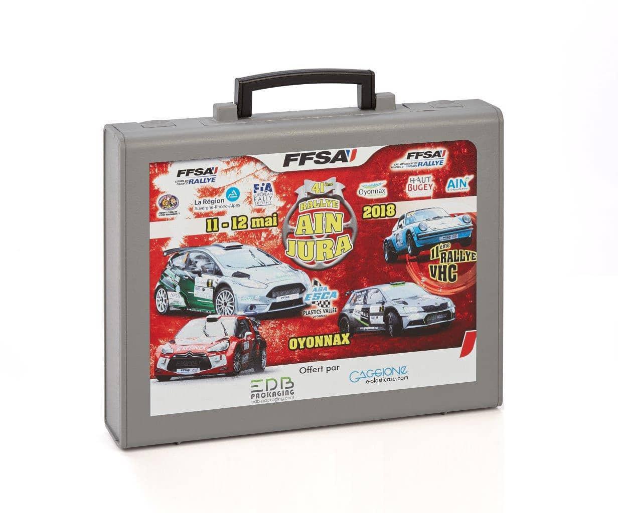 M1 Valisette plastique FFSA pour les voitures du rallye automobile