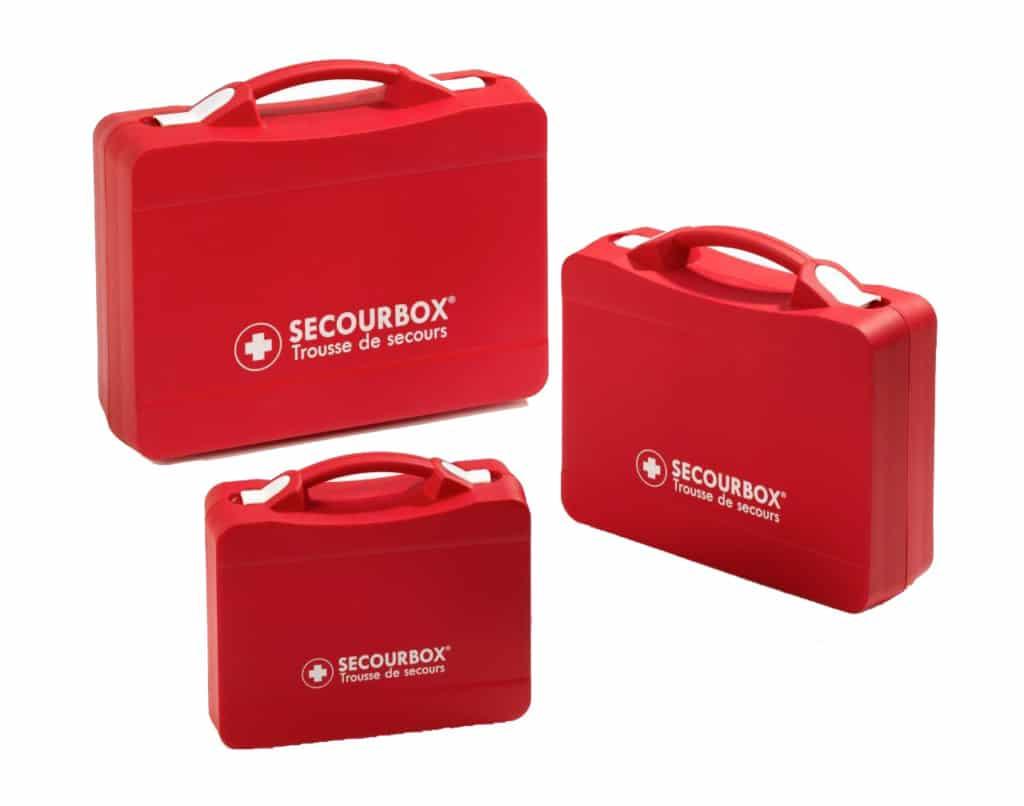 trousses de secours rigides Secourbox