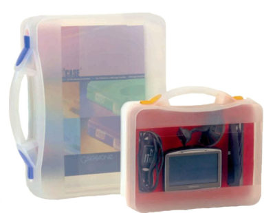Porte documents et attaché case transparents
