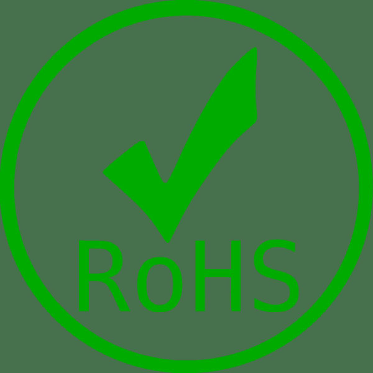 Matières certificat RoHS
